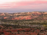 Palo Duro Canyon State Park at Twilight