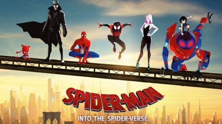 SpiderMan Into the SpiderVerse - fun, cool, entertainment, SpiderMan Into the SpiderVerse, movies