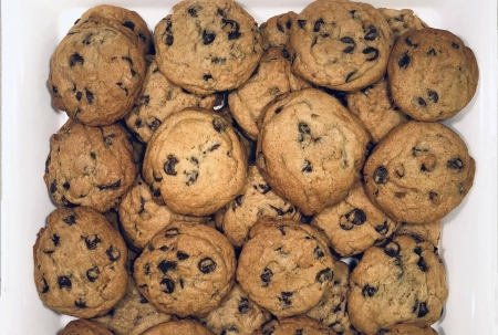 chocolate chip cookies - yummy, foods, entertainment, cookies, cool, fun