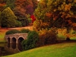 Autumn bridge