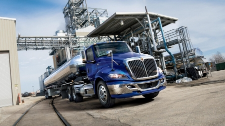 2018 international rh series class 8 tank truck - truck, tank, international, oil, refinery