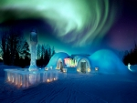 Northern Lights Snowland
