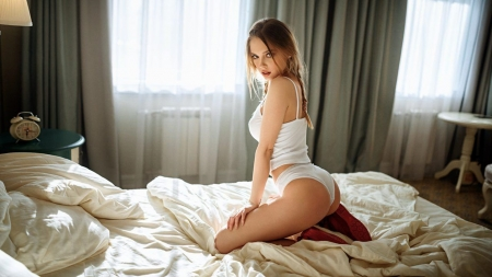 Wonderful Girl !! - hot, sexy, girl, bed