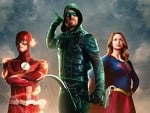 Flash, Green Arrow and Supergirl