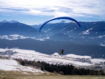 Paragliding over Valley
