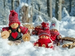 Winter dolls