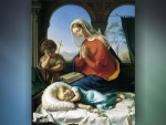 Mary, John and Sleeping Jesus