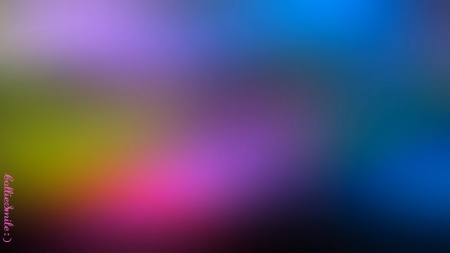 Enchanting Evening Colors - abstract, blue, blurry, b1urred, purple, lavender, pink