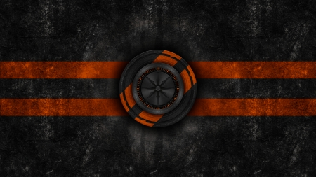Black corp logo orange - orange, dark, abstract, white, artistic, wall, black design, 2019, grunge, texture, new
