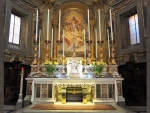 Altar in St. Vincent's Church, Rome