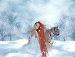 Winter Fantasy Girl