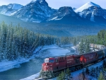 Rail Transport in the Canadian Rockies