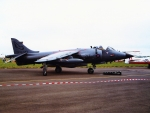 Royal Navy Harrier - Prestwick Air Show - Scotland (1989)