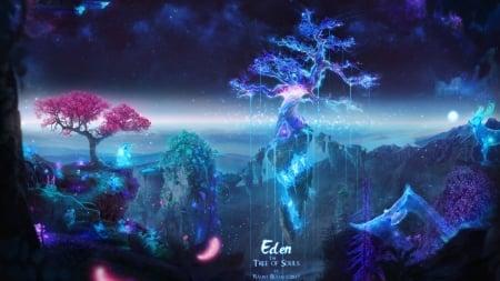 Eden The Tree Of Souls Balint4 Eden Fantasy Luminos Tree