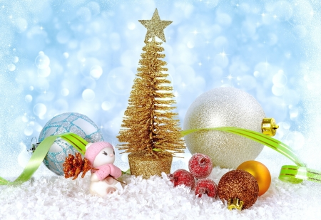 Christmas decoration - new year, balls, decoration, toys