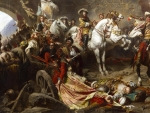 The capture of Buda by the imperial army 1686
