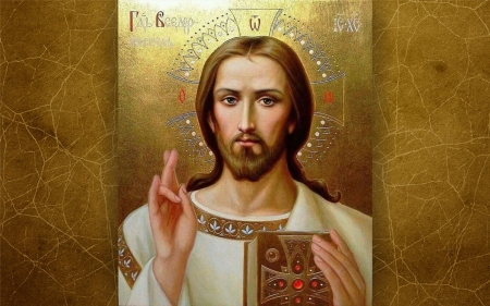 Blessing from Jesus - Christ, Orthodox, icon, Jesus, blessing