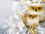 Snowflakes and Owls