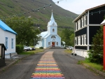 Road to Church in Iceland