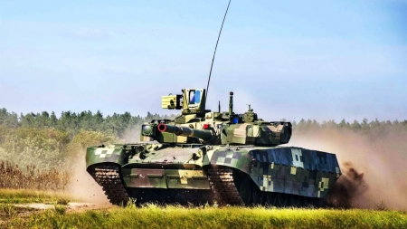 t84 oplot - tank, battle, main, ukrainian, grass