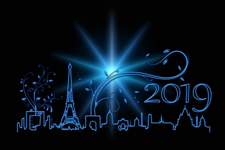 happy new year paris