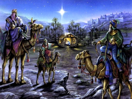 A Reason to Celebrate - jesus, the, man, mary, baby, mother, wise, manger, christ, joseph