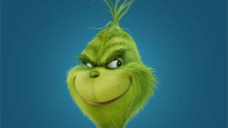 The Grinch - green, christmas, animation, movies, smiling, grich