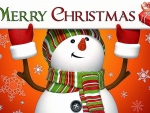 Snowman ChristmasGreeting