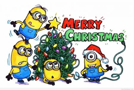 Minion Christmas.Minion Christmas Greeting Movies Entertainment
