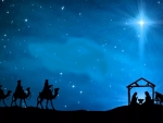 The Wise Men Arrive. .