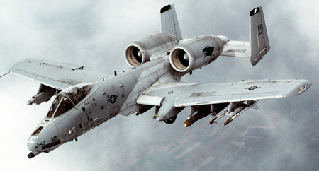A10 Thunderbolt II - fighter, military, thunderbolt, a10, recon, jet