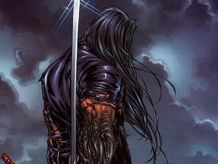 Dark Sword - dark, evil, sword, mutant