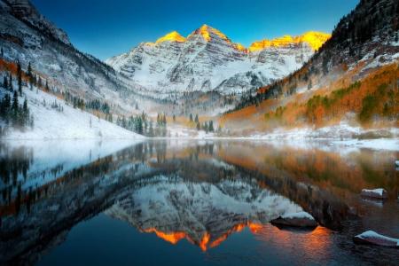 Lake Louise in Winter - Lakes & Nature