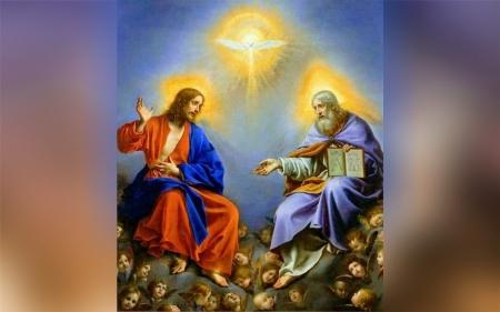 holy trinity wallpaper