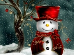 ❤️Red and White Snowpeople❤️