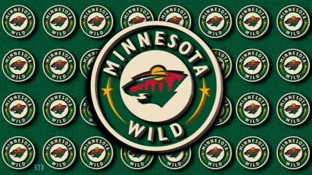 Minnesota Wild circle logo 3D - Minnesota Wild Hockey, NHL Wild, Minnesota Wild Wallpaper, Minnesota Wild Background, Minnesota Hockey, Minnesota Wild, Minnesota Wild Logo