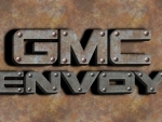 GMC Envoy old steel logo
