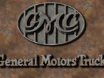 First GMC logo old steel