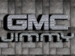 GMC Jimmy Galvinized steel logo