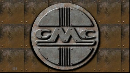 Gmc 1950s Old Steel Logo Gmc Cars Background Wallpapers