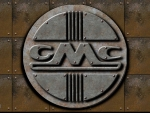 GMC 1950s old steel Logo