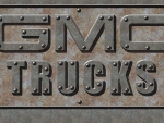 GMC Trucks old steel Wall