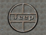 1960s Jeep old steel logo