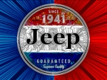 Jeep Glass sign