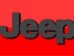 Jeep Carbon fiber logo