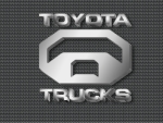 Toyota Trucks chrome logo