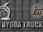 First Toyota Truck Hood ornement logo