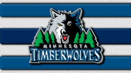 Minnesota Timberwolves Old Logo 3d Basketball Sports Background