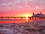 Sunset at Usedom, Germany