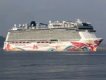 Norwegian Joy at Cochi New Port